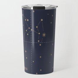 Vintage Sagittarius Travel Mug