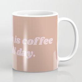 happiness is coffee Coffee Mug