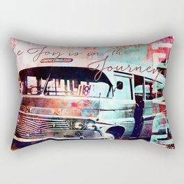 The Joy is in the Journey Rectangular Pillow