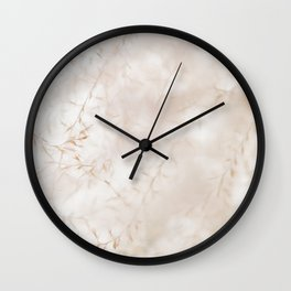 Dream in Abstract Wall Clock