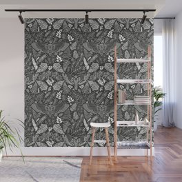 Death's-head Hawkmoth in an Enchanted Forest Wall Mural
