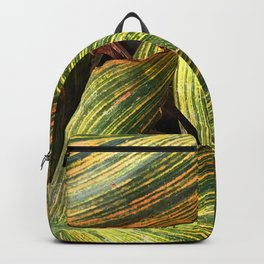 Avant-Garde Elegant Breathtaking Leaves Art Photo Backpack