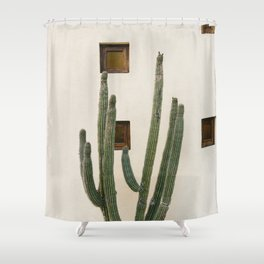 Cabo Cactus IX Shower Curtain
