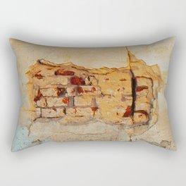 Stone wall Abstrackt hole Rectangular Pillow