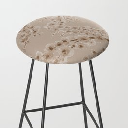 Cherry Blossom in Taupe Bar Stool