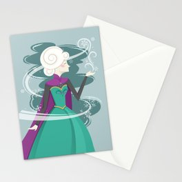 QUEEN ELSA Stationery Cards