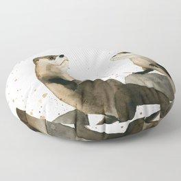 Otters Floor Pillow