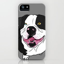 Bubba, the American Bulldog iPhone Case