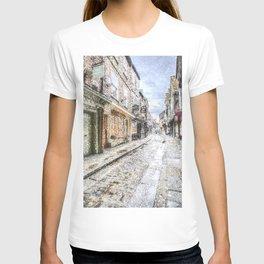 The Shambles York Snow Art T-shirt