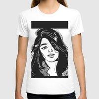 sky ferreira T-shirts featuring Sky Ferreira by Priyanka Menon