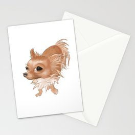 Suspicious Chihuahua Stationery Cards