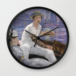 The ferryman Wall Clock