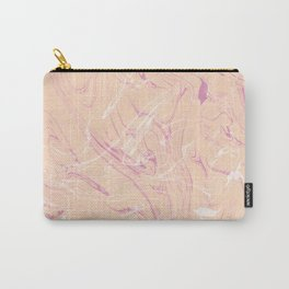Adrift - Abstract Suminagashi Marble Series - 07 Carry-All Pouch