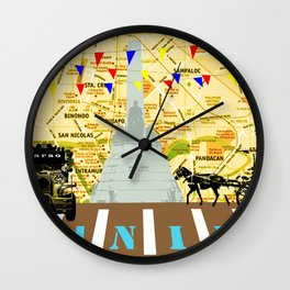 Locals Only - Manila Wall Clock