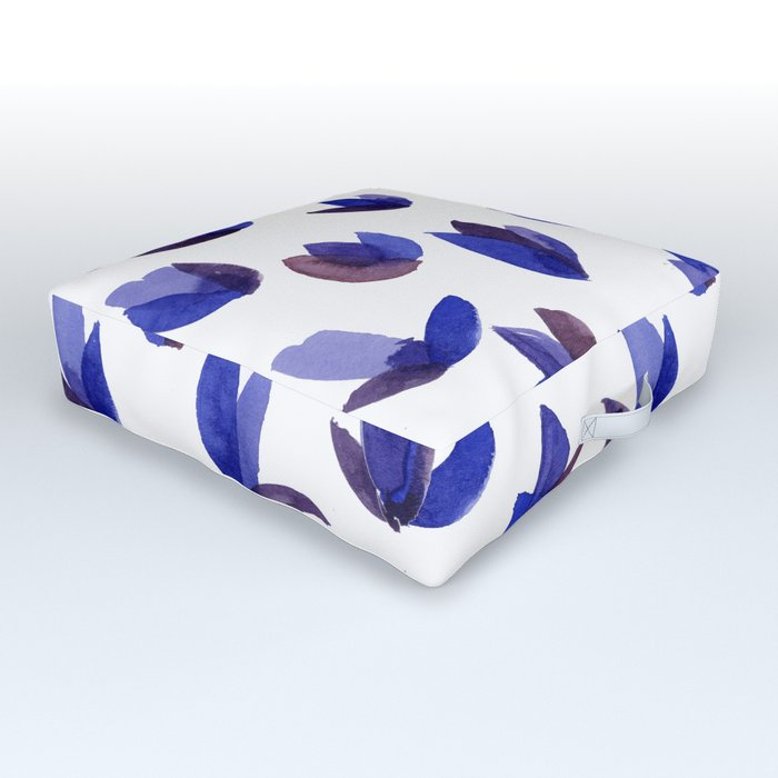 Read My Tulips Outdoor Floor Cushion