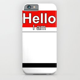 Hello I am from Yemen iPhone Case