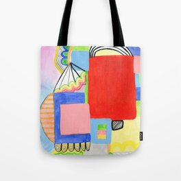 Primary Geo Summer Day Tote Bag