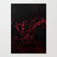 dota Canvas Prints featuring Soul Devourer by Explicit Designs