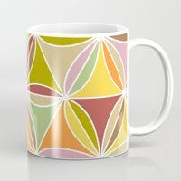quilt Mugs featuring august quilt by Ariadne