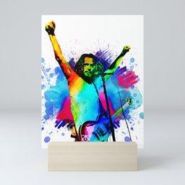 Chris Cornell - Water Colour Art Design Mini Art Print