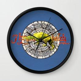 Bosch Green Beast Wall Clock