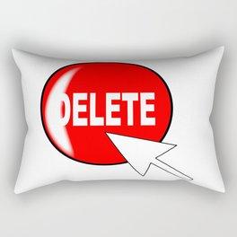 Computer Icon Delete Rectangular Pillow