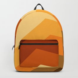 Summer Warm color pattern Backpack
