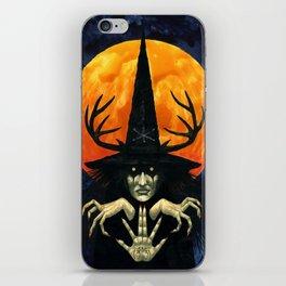 Autumn Conjurer iPhone Skin