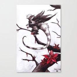 Harpie grièche (Shrike Harpy) Canvas Print