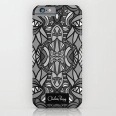 Roller Coaster Black and White iPhone 6s Slim Case
