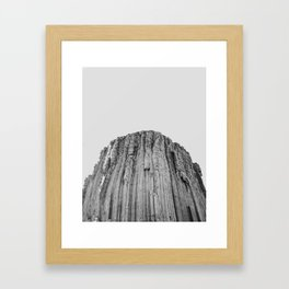 Devil's Tower Framed Art Print