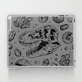 Geo-rex Vortex | Black Laptop & iPad Skin