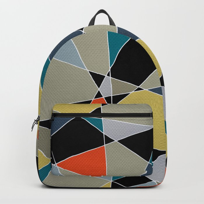triangles pattern 002 Backpack