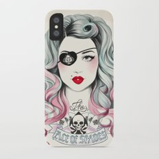 Ace of Spades iPhone X Slim Case