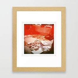 ART IS CHAOS Framed Art Print
