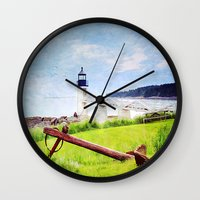 maine Wall Clocks featuring Beautiful Maine by ThePhotoGuyDarren