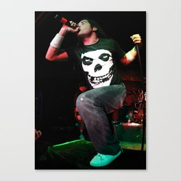 Elias Soriano of Nonpoint Canvas Print
