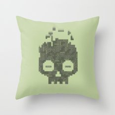 Dead Boy Throw Pillow