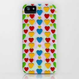 So sweet and hearty as love can be iPhone Case
