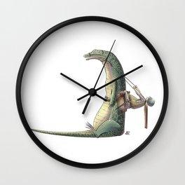 Numero 10 -Cosi che cavalcano Cose - Things that ride Things- Wall Clock