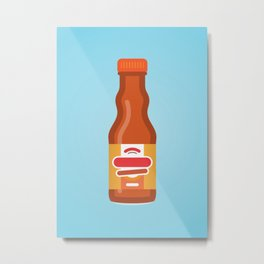 Frank's Buffalo Wing Sauce Metal Print