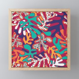 Matisse Pattern 009 Framed Mini Art Print