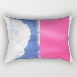 SKY/PNK Rectangular Pillow