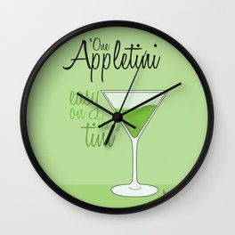 Tv drink quotes [ SCRUBS ] Wall Clock