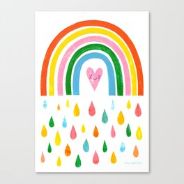 The Rain Gives You The Rainbow Canvas Print