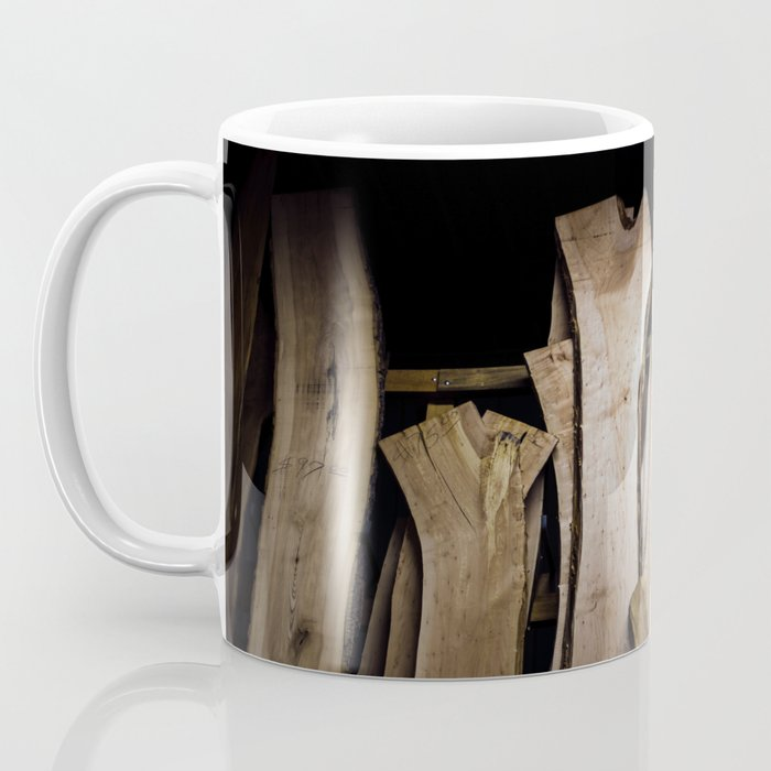 Wood Slabs Coffee Mug