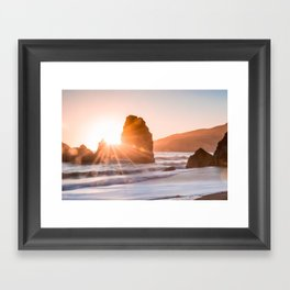 Seaset Framed Art Print