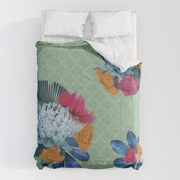 Waratah flower Comforters