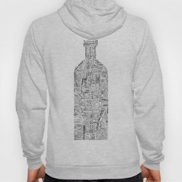Drinks Full Tag Cloud Hoody