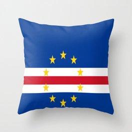 Flag of Cape Verde Throw Pillow